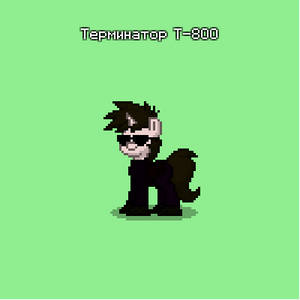 Pony Town Terminator T-800