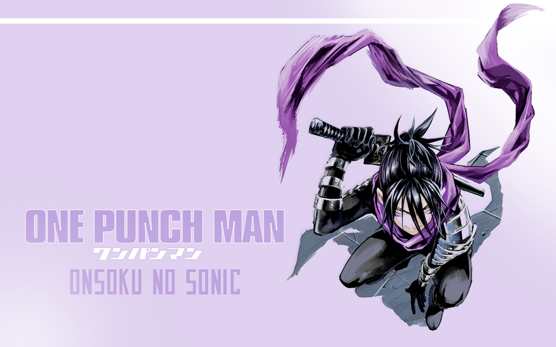 one punch man sonic