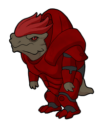 Wrex by fuzzbuzz