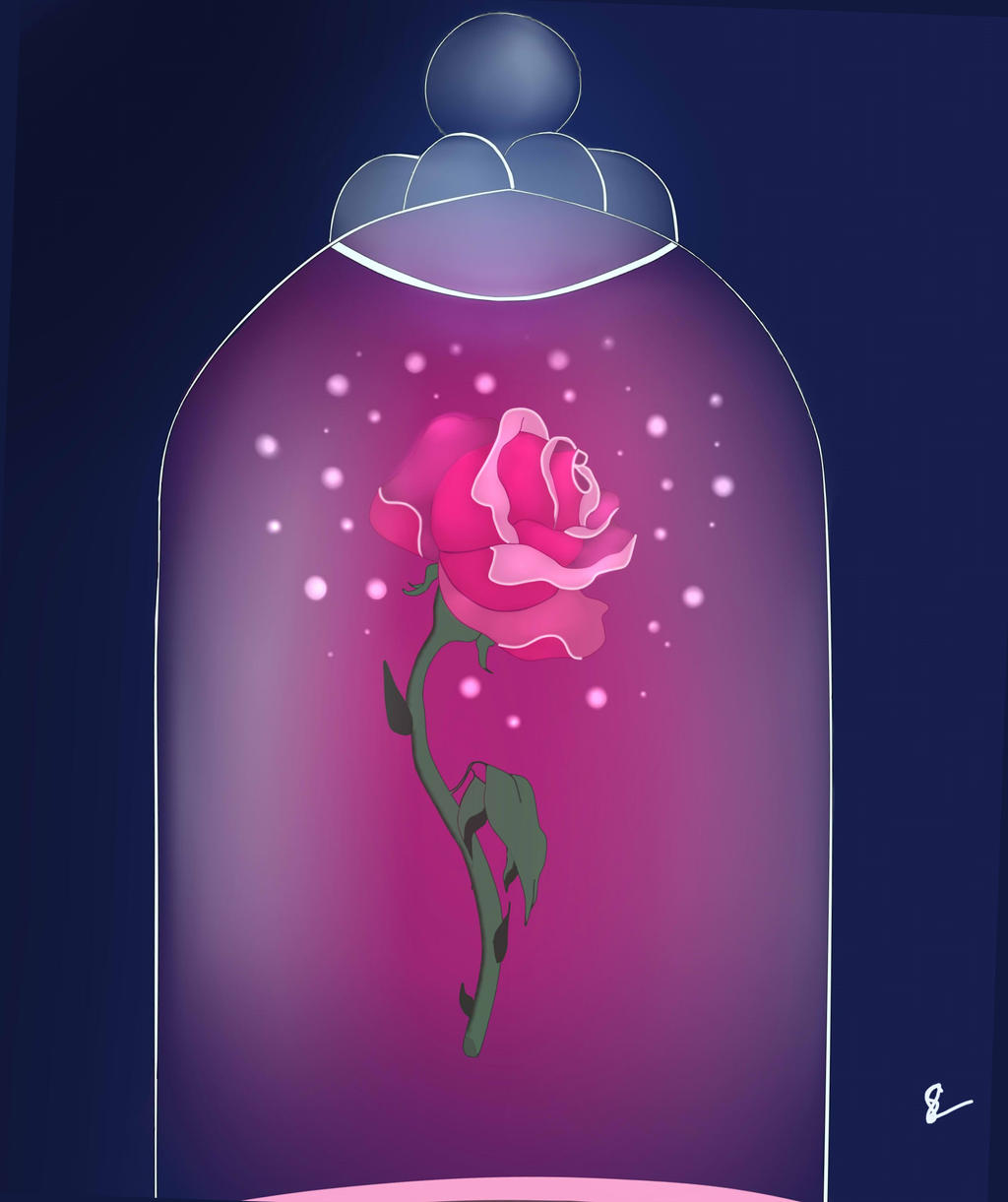 enchanted rose by oakwolf6554 on deviantart