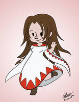 Bri as White Mage by 11celle