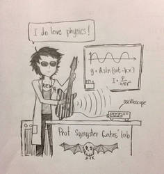 Synyster Gates' lab by euronymook