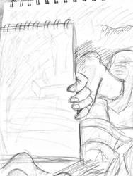 Quick Sketch of a Sketchbook