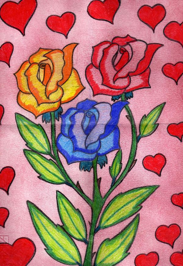 Fiori disegnati dal mio amore by ladyfata on deviantart for Fiori disegnati