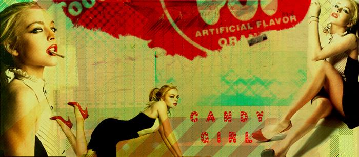 Candy Girl Lindsay Lohan by ellie-art