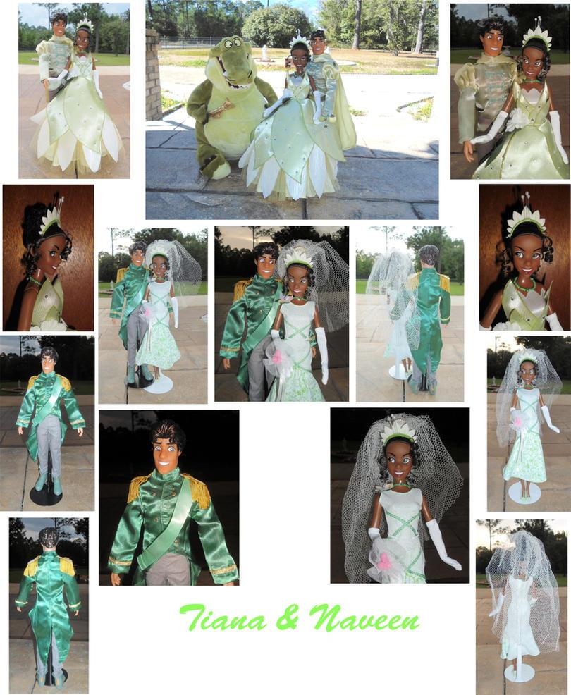Tiana x Naveen 1/6 Custom OOAK Dolls + Wedding by SetsunaKou
