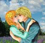 Kristoff x Anna Sweet Scene - Kristanna
