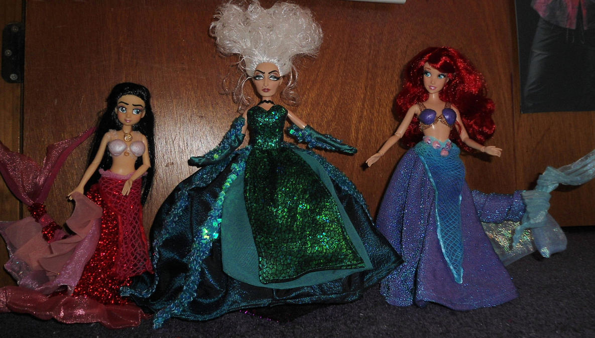 The Little Mermaid Broadway Musical OOAK Dolls by SetsunaKou ... & The Little Mermaid Broadway Musical OOAK Dolls by SetsunaKou on ...