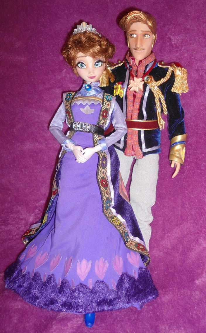 King Agdar + Queen Idun 11inch OOAK Dolls by SetsunaKou