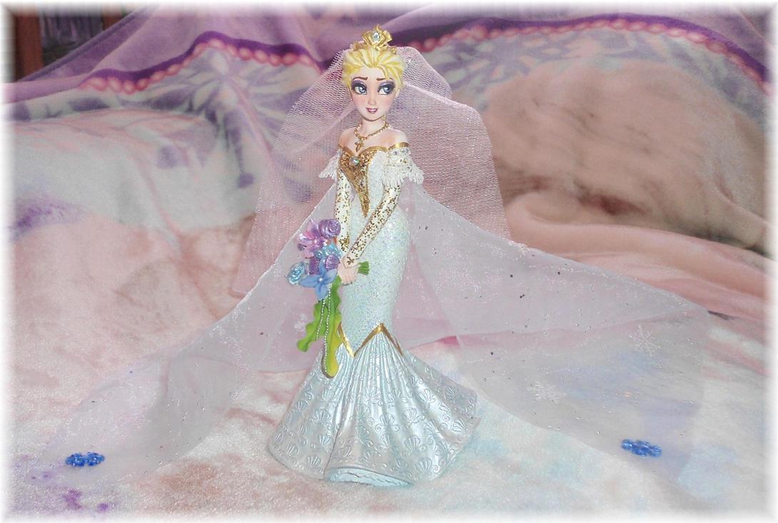 Queen elsa couture de force wedding custom statue by for Couture de force elsa