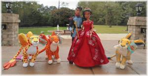 Elena + Gabe 11 inch Disney Store Dolls
