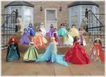 Disney Princess 16inch Custom OOAK Dolls