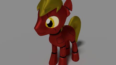 Not Fluffy Pony