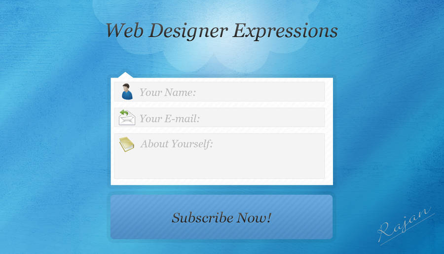Form Design by rajananimator