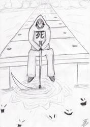 Sitting Death by BlazsevB