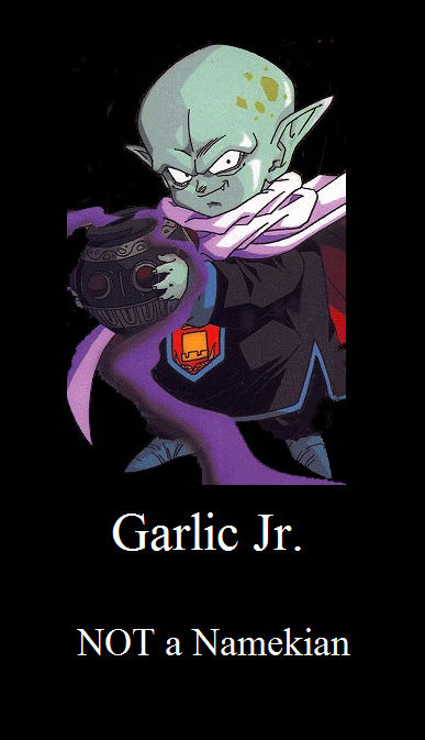 Garlic Jr Demotivational Poster By Barbaspwns On Deviantart If a namekian doesn't wear neck protection it's either because they feel comfortable without having it covered, or because they're sterile. deviantart