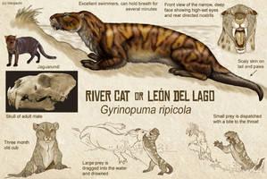 River Cat, or Leon del Lago by Viergacht