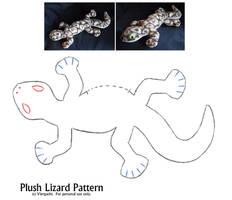 Plush Lizard Pattern