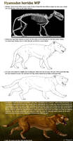 Hyaenodon progress by Viergacht
