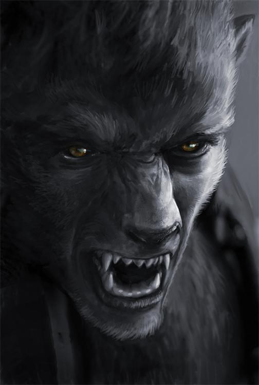 I was a Teenage Werewolf by Viergacht