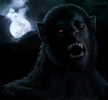 Werewolf Weds George by Viergacht