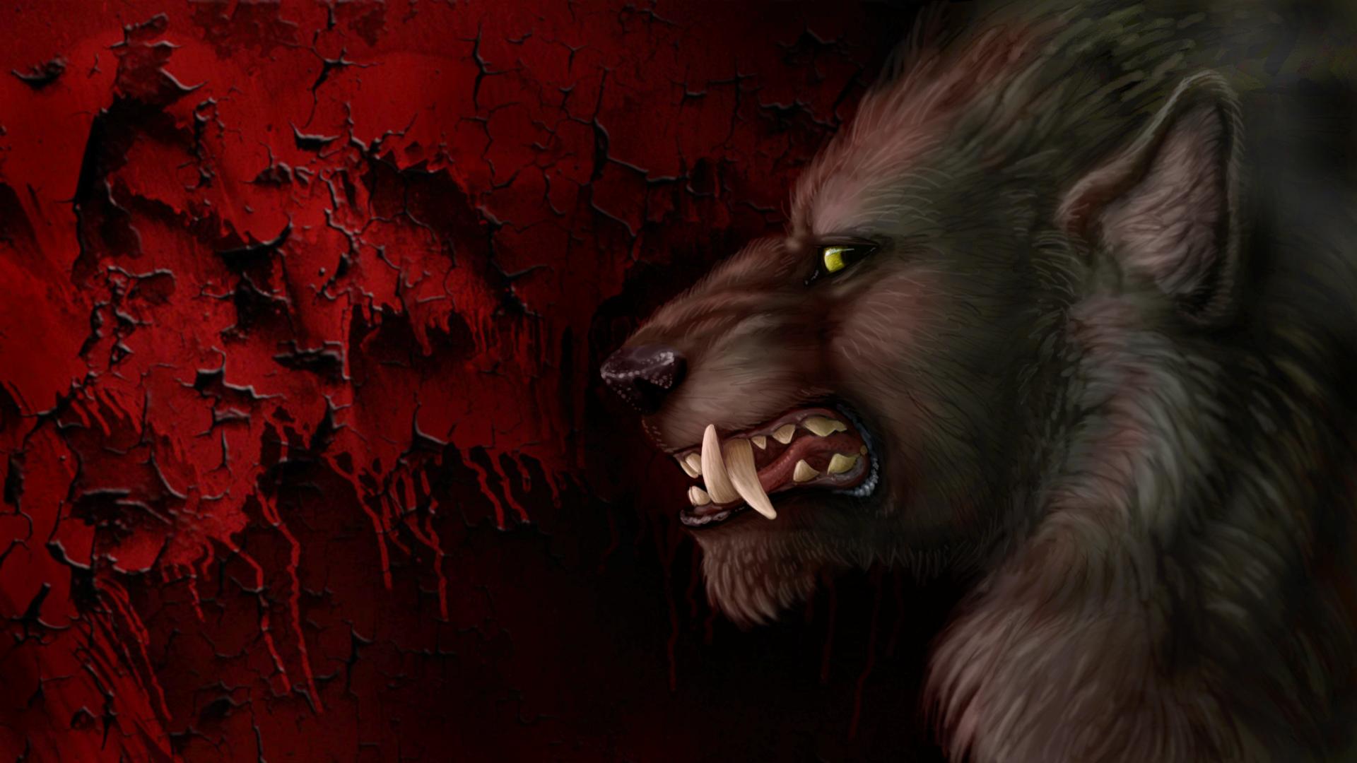Werewolf Wednesday Wallpaper by Viergacht