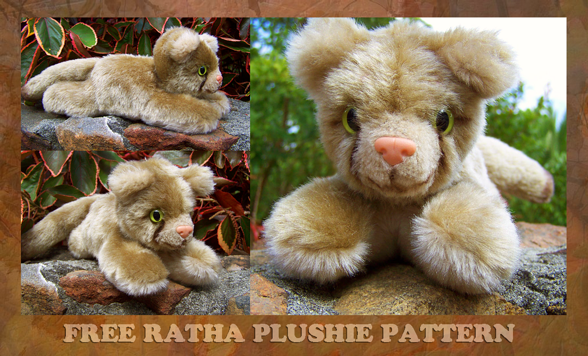 Free Ratha Plushie Instructions by Viergacht