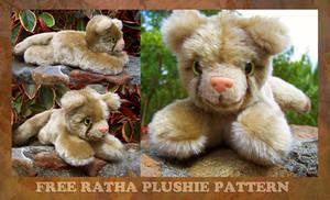 Free Ratha Plushie Instructions