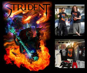 STRIDENT t-shirt by Viergacht