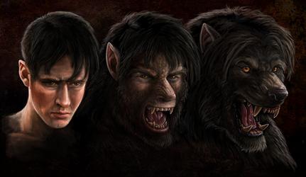 Werewolf Weds. 7-10-13 by Viergacht