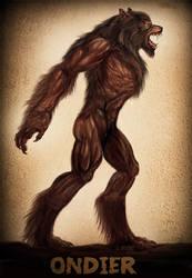 Werewolf Wednesday Ondier by Viergacht