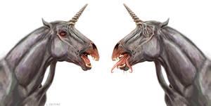 Parasitic Unicorns by Viergacht