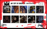 Top 10 Favorite Werewolves