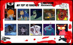 Top 10 Favorite Cartoon Werewolves