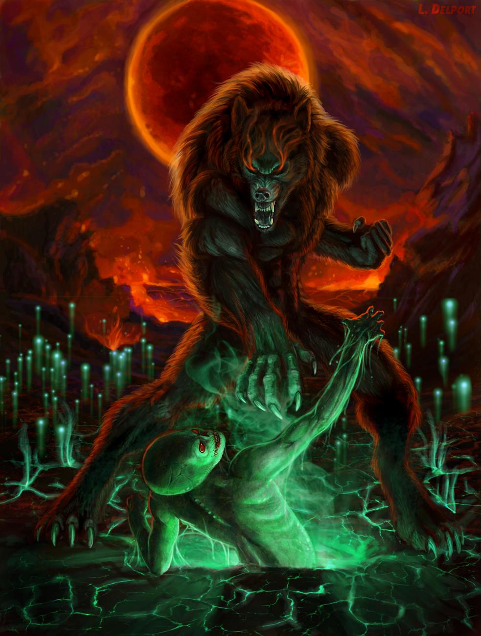 how to use werewolf totems skyrim