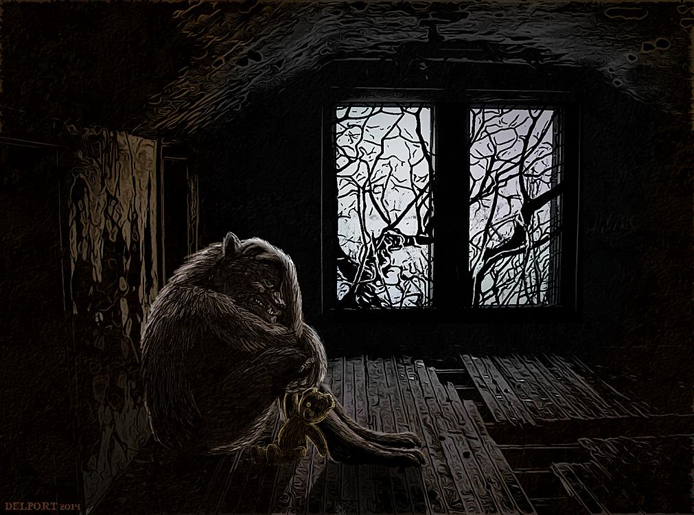 Werewolf Weds. 4/26/14 by Viergacht