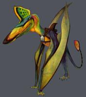 Ankur Pterosauroid by Viergacht