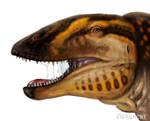 Dinovember - Carcharodontosaurus speedpaint