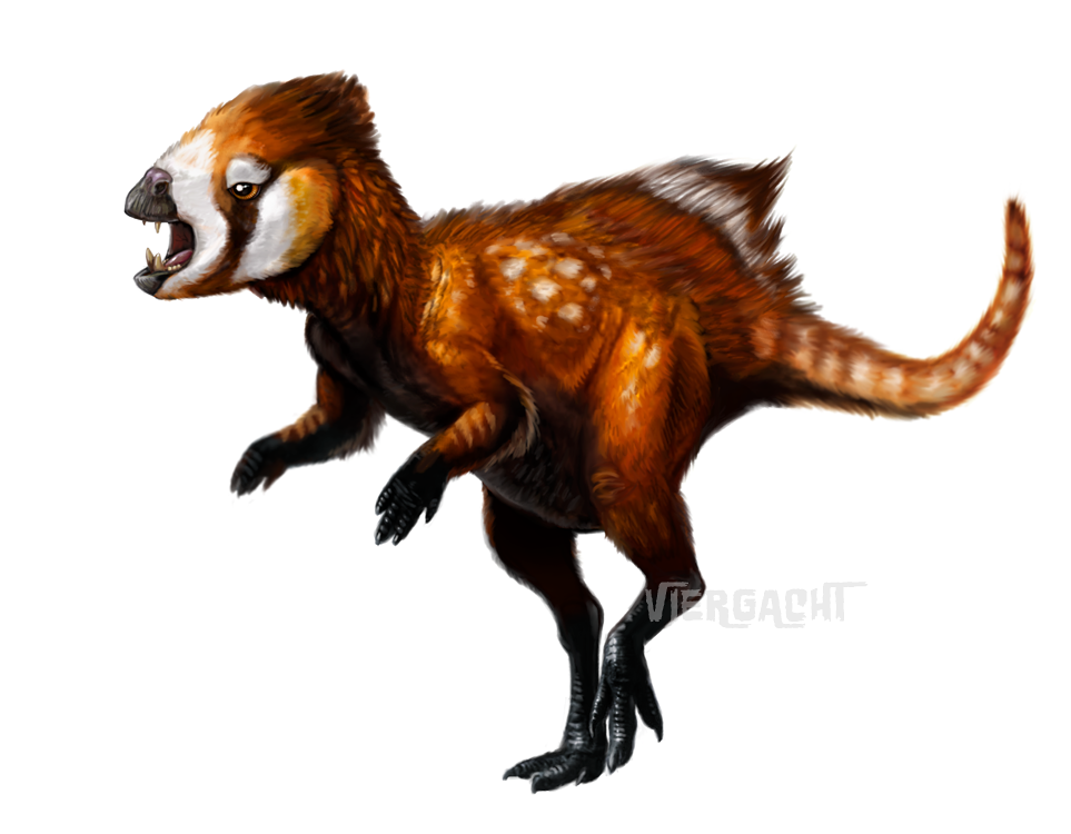 Dinovember - Heterodontosaurus speedpaint