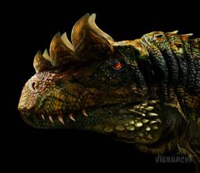 Dinovember - Calvinosaurus by Viergacht