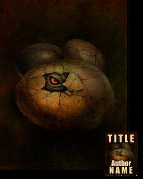 Monster Egg Premade Blank Cover