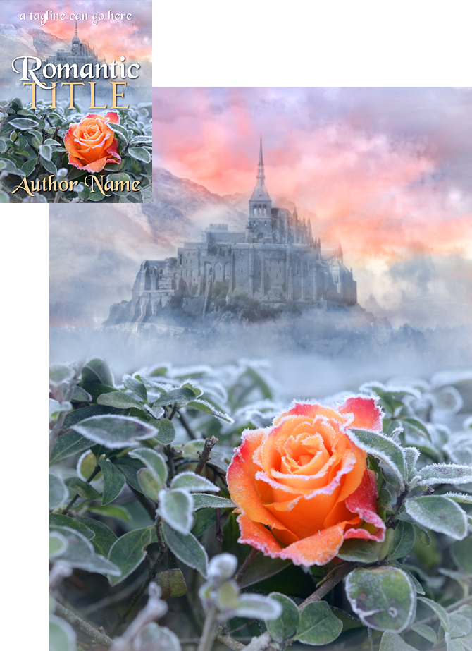 Book Cover Forros S : Winter rose book cover design by viergacht on deviantart