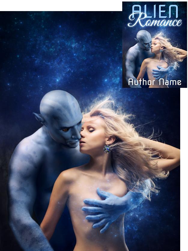 Book Cover Design Romance : Alien romance book cover design by viergacht on deviantart