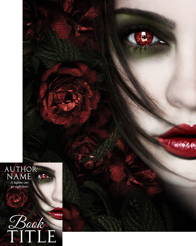 Book Cover Forros S : Blood and roses book cover design by viergacht on deviantart