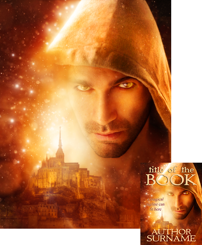 Fantasy Book Cover Art For Sale : Magic man premade book cover by viergacht on deviantart