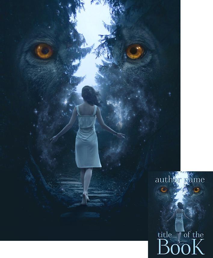 Premade Book Cover Art : Forestwalker premade book cover by viergacht on deviantart