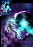 Intergalactic Phoenix Premade Book Cover