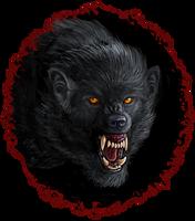 Wolfish Portrait by Viergacht