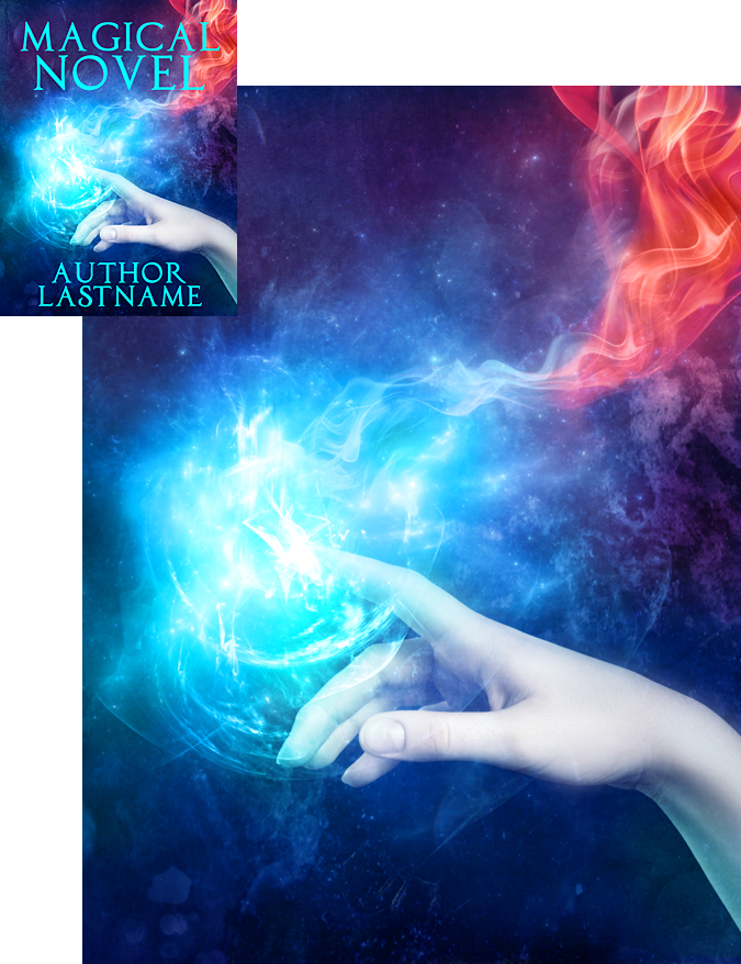 Premade Book Cover Art : A touch of magic premade book cover by viergacht on deviantart