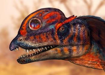 Dilophosaurus wetherilli by Viergacht